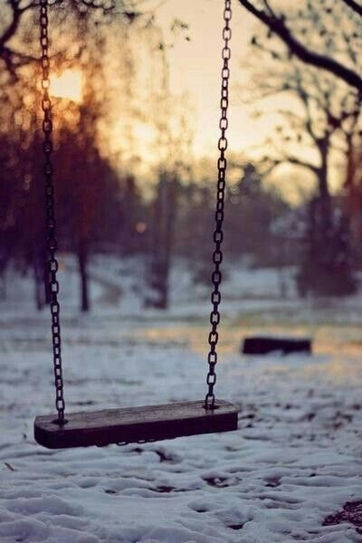 Swing In The Snow Pictures, Photos, and Images for