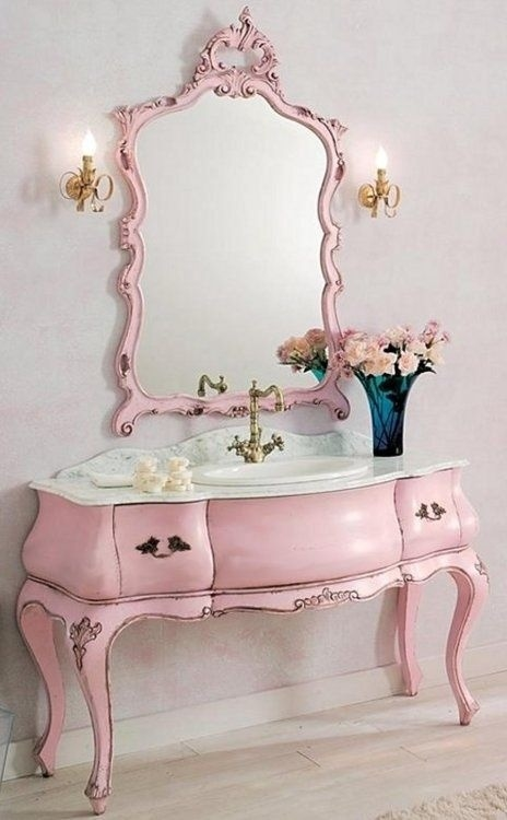 Pretty Pink Vanity Pictures Photos And Images For