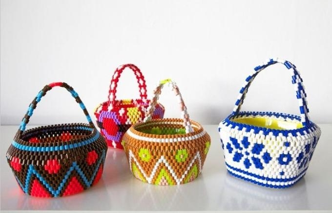 45681 hama bead baskets