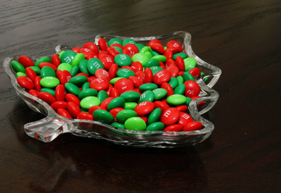 Christmas M&M Candies