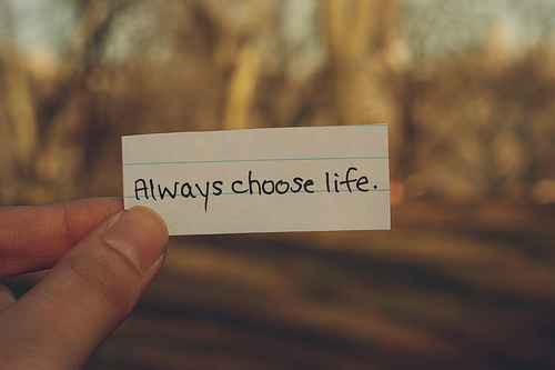 Choose Life Quotes. QuotesGram