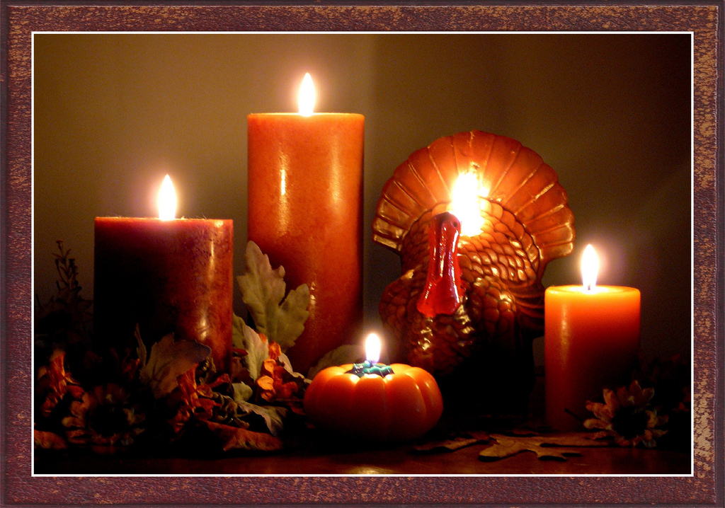 Thanksgiving Candles