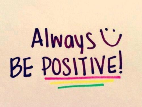 Hasil gambar untuk be positive