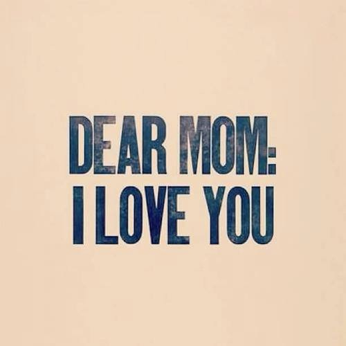 I Love You More Than Quotes: Dear Mom, I Love You Pictures, Photos, And Images For