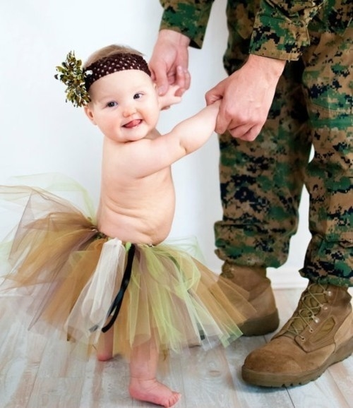 Dancing Babies Cute: Camo Baby And Daddy Pictures, Photos, And Images For