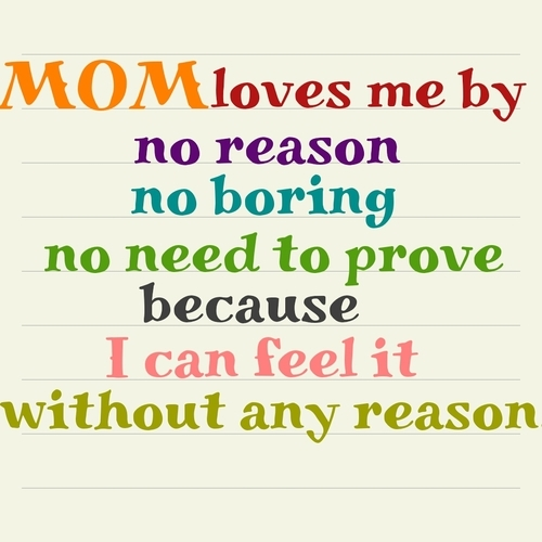 Love Mom Quotes Fascinating Mom Loves Me Pictures Photos And Images For Facebook Tumblr