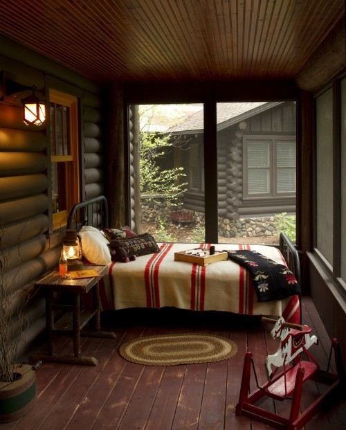 Cozy cabin bedroom pictures photos and images for facebook tumblr pinterest and twitter Lake house decorating ideas bedroom
