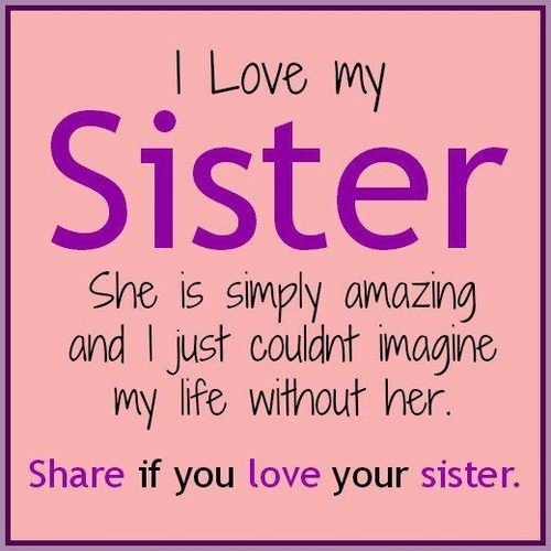 Love Finds You Quote: I Love My Sister Pictures, Photos, And Images For Facebook