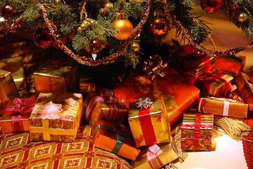 xmas presents under the tree - Xmas Presents