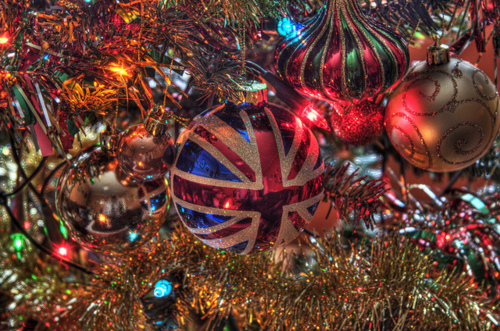 UK Christmas Ornament
