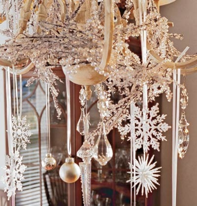 Chandelier snowflake ornaments pictures photos and images for chandelier snowflake ornaments mozeypictures Choice Image