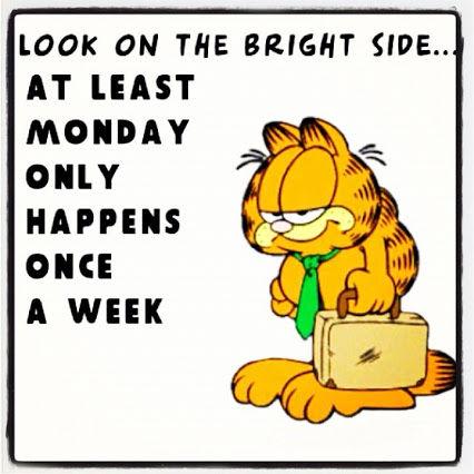 Garfield Monday Quotes. QuotesGram