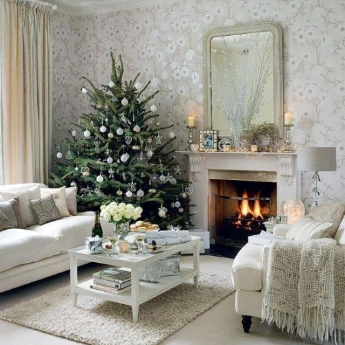 Living Room Christmas Decor Pictures Photos And Images