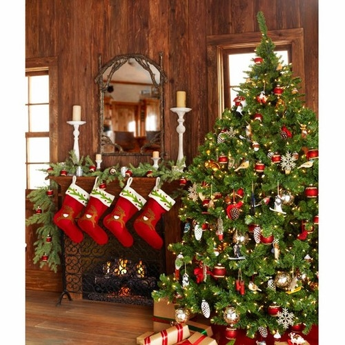 christmas cabin decor