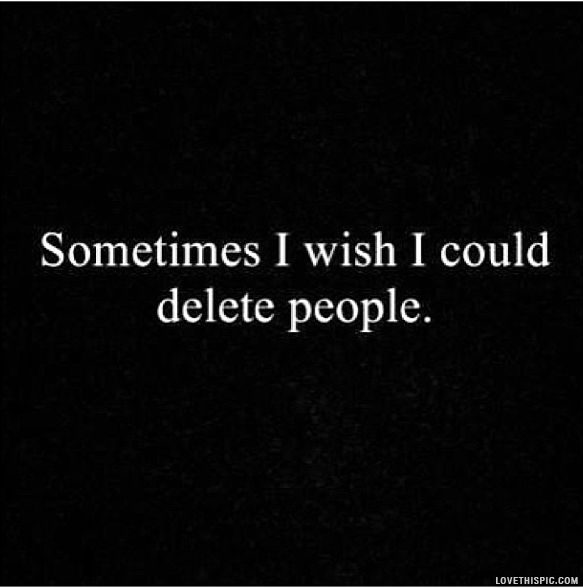 Delete People Pictures, Photos, and Images for Facebook, Tumblr ...