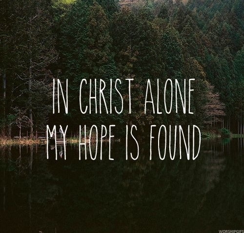 Jesus you alone lyrics
