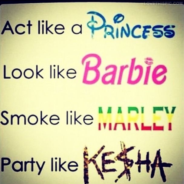 Act Like A Princess