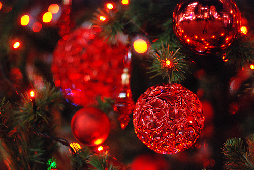 Red Christmas.Red Christmas Ornaments Pictures Photos And Images For