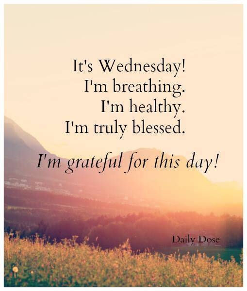 Wednesday Blessings Qu...