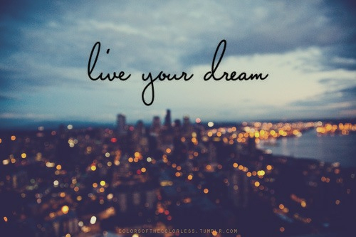 Society Blog - Live Your Dream