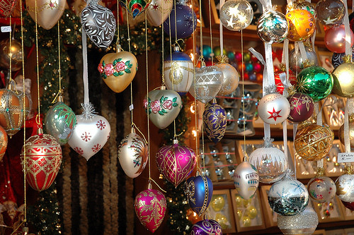 Hanging Christmas Ornaments Pictures Photos And Images