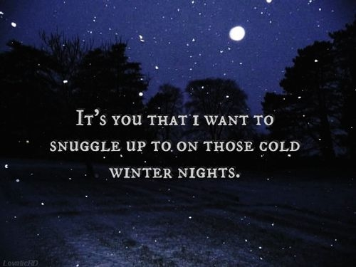 Charmant Those Cold Winter Nights