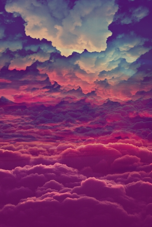 Tumblr Backgrounds Colorful Clouds