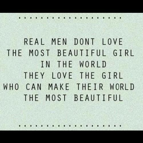 A Quote For A Beautiful Girl: Real Me Dont Love The Most Beautiful Girl Pictures, Photos