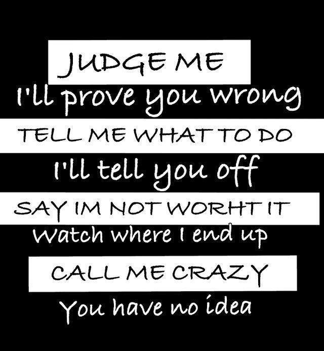 Judge Me Quotes. QuotesGram
