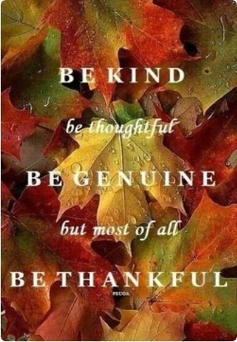 Be Thankful Pictures, Photos, and Images for Facebook