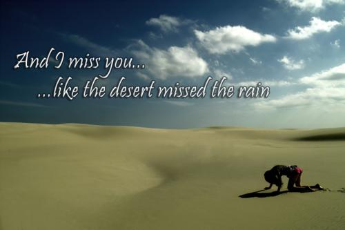 miss you like
