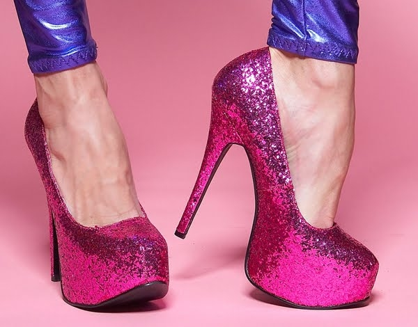 Hot Pink Glitter Shoes Pictures 00f4c0d18