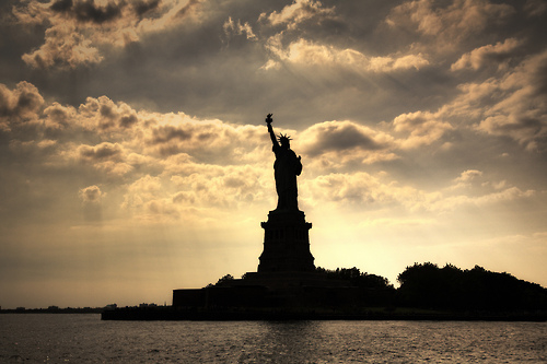 Statue Of Liberty Sillhouette Pictures, Photos, and Images for Facebook, Tumb...
