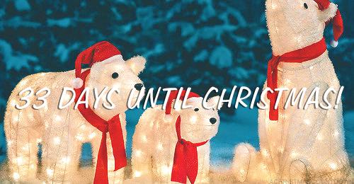 33 Days Until Christmas