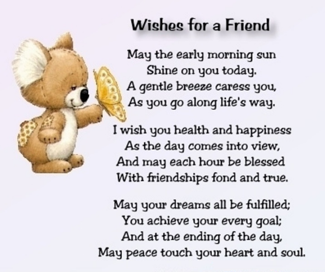 Special Friend Funny Quotes: Wishes For A Friend Pictures, Photos, And Images For