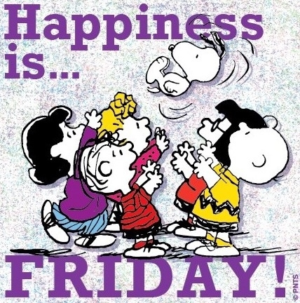 Happiness Is Friday Pi...