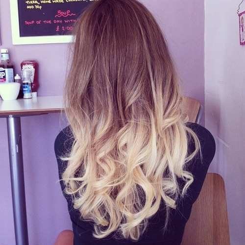 Blonde Dye Tips Pictures Photos And Images For Facebook