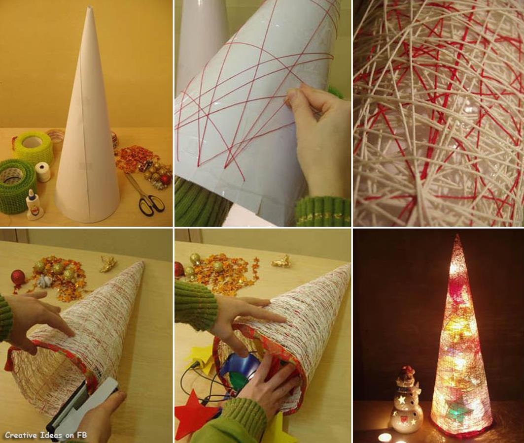 Easy diy christmas tree pictures photos and images for for Christmas decoration ideas to make