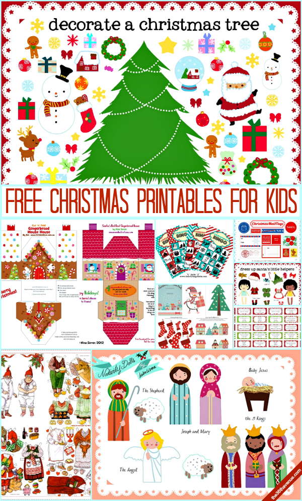Christmas Printables For Kids Pictures, Photos, and Images ...