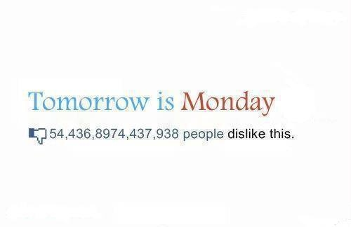Tomorrow Is Monday Pictures, Photos, and Images for Facebook, Tumblr, Pintere...