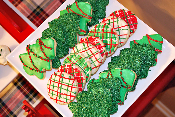 Red And Green Christmas Cookies Pictures Photos And Images For
