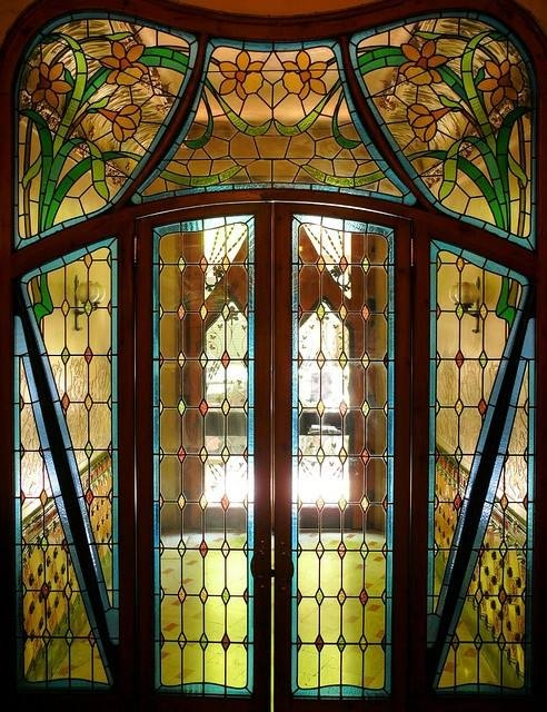 Stained Glass Doors Pictures Photos And Images For