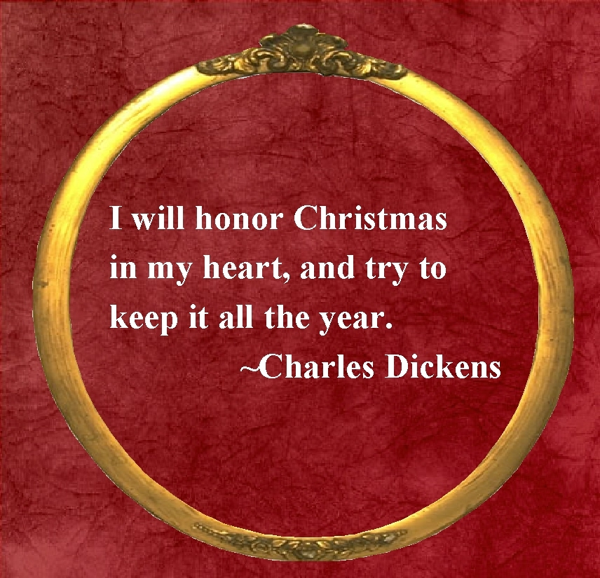 i will honor christmas in my heart - Christmas In My Heart