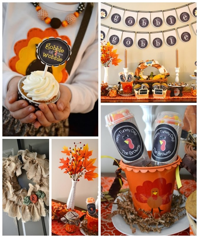 Diy Thanksgiving Party Decorations Pictures Photos And Images For