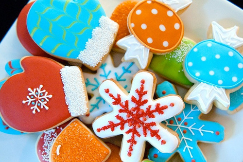 Colorful Christmas Cookies Pictures Photos And Images For Facebook