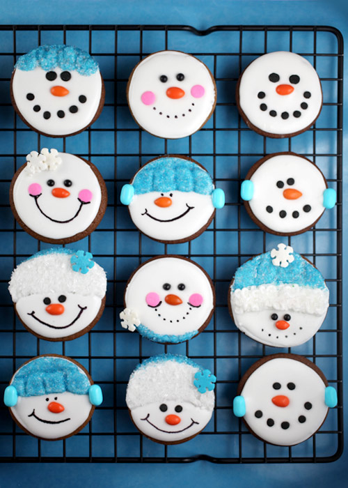 Snowmen cookies pictures photos and images for facebook for Snowman faces for crafts