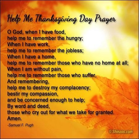 Thanksgiving Day Prayer Pictures, Photos, and Images for ...