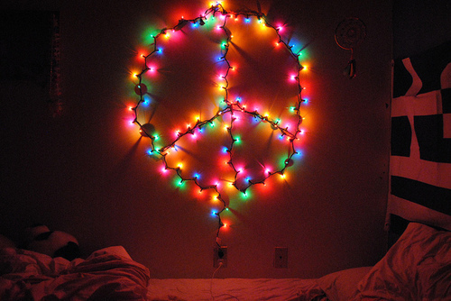 Peace Christmas Lights Pictures, Photos, and Images for Facebook ...
