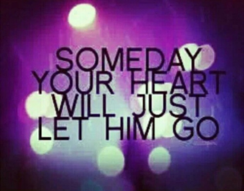when to let him go