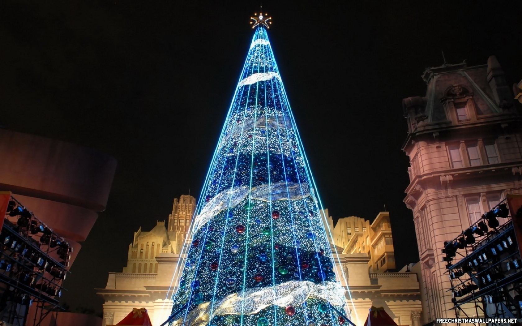 blue christmas tree pictures photos and images for